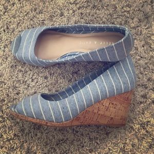 Wedges in perfect condition! Never worn